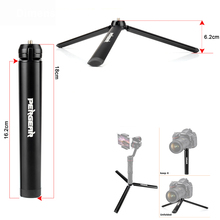 Pergear Aluminum Mini Table Tripod Leg for Tripod Head Selfie Stick Extendable Monopod Smartphones Cameras Zhiyun Smooth Q Crane(China)