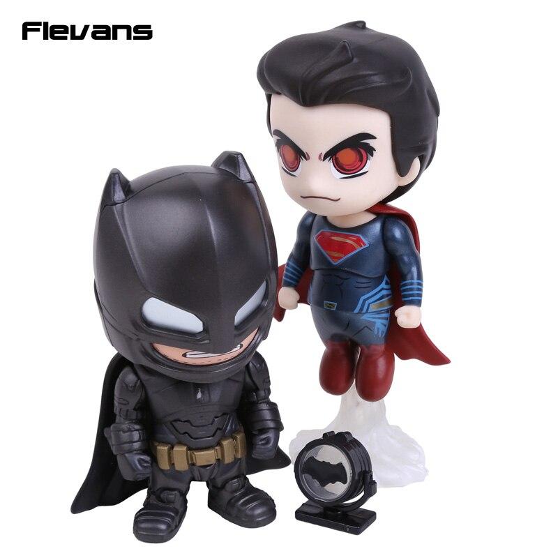 Batman Superman Mech Suit Version Cosbaby Collectible Set PVC Action Figures Collectible Toys 2-pack<br><br>Aliexpress