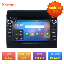 Android 6.0 for 2007-2016 Fiat Ducato Radio DVD Player GPS Navigation System with Bluetooth Mirror Link Steeing Wheel Control