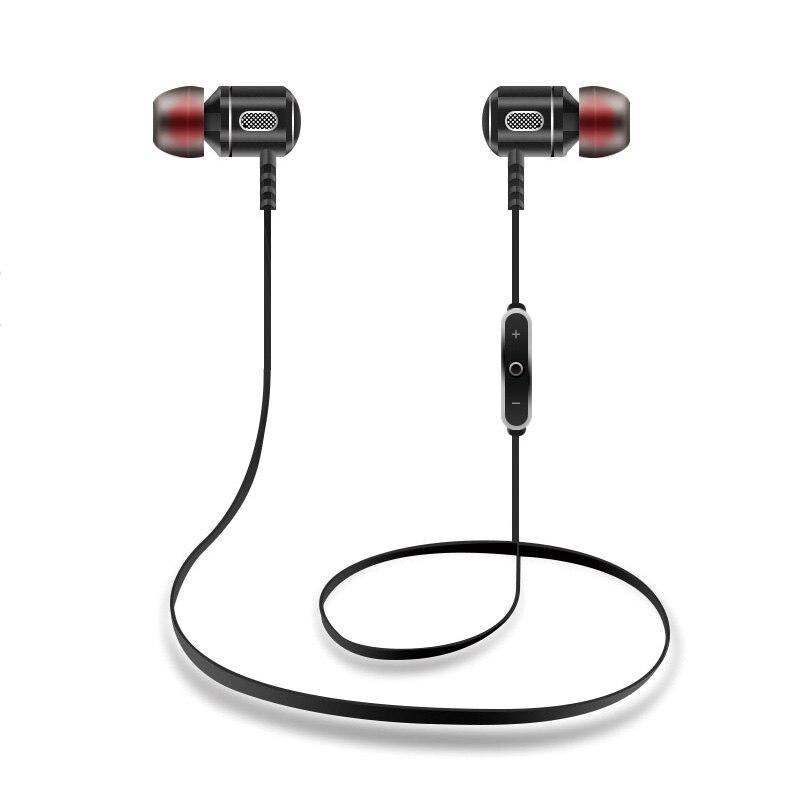 LEPHEE Metal Bluetooth Earphone For iPhone 8 X 7 Samsung S8 Xiaomi A1 Wireless Sport Running Stereo In Ear Hook Earbuds Headset