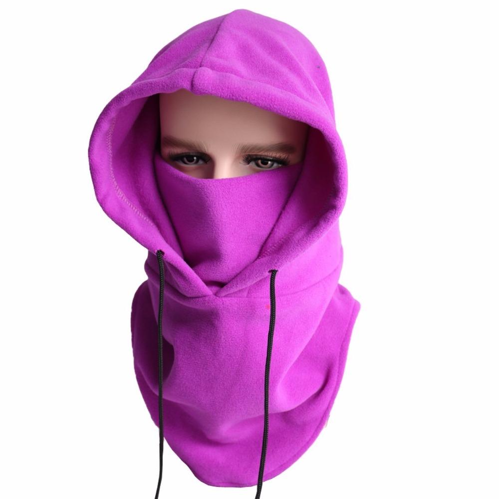 Windproof Ski Mask - Winter Warm Balaclava - Cold Weather Face Mask Motorcycle Neck Warmer Running Haa