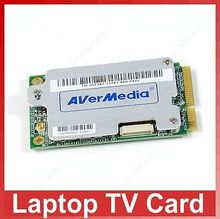 HOT Avermedia A306 Mini PCI-E Analog Digital DVB-T TV Card Analog FM Card For Laptop UMPC #D