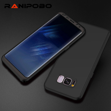 360 Degree Full Protection Cover Case For Samsung Galaxy S8 S8 Plus With Soft PET ( Not Tempered Glass) Case Phone Case(China)