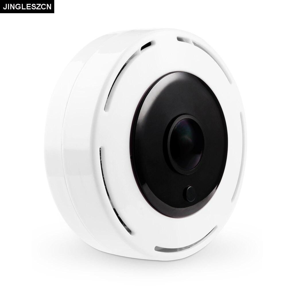 JINGLESZCN Wireless WIFI IP Camera 360 Fisheye Panoramic Dome Camera 1080P 960P 720P CCTV Night Vision Surveillance Security Cam<br>