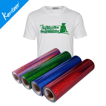 Q3 Kenteer Low Price Hologram Heat Transfer Vinyl For Clothing 0.5*25m One Roll(China)