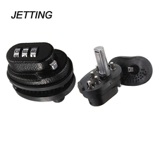 JETTING 3-Dial Trigger Password Lock Black Pistol Rifle Gun Trigger Lock Key For Firearms(China)