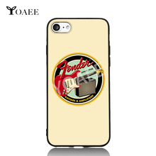 Amplifires Fender Guitars Music Since 1946 For iPhone 5s SE 6 6s 7 Plus Case TPU Phone Cases Cover Mobile Decor Gift(China)