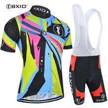 BXIO Cycling Jersey 2017 Ciclismo Maillot Equipe De France Soccer Sport Jerseys Outdoor Mountain Bike Sets Camisa De Futebol 054