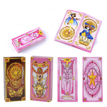 """Sakura Tarot"" Board Game 54 PCS/Set New Design Cards Game English Edition Tarot Board Game For Family/Friends"