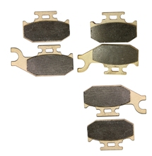 Brake Shoe Pads set fit for CAN-AM ATV 400 cc Outlander 2007 2008 2009 2010 ( STD Max STD XT 4X4 A B C D E F G H J)(China)