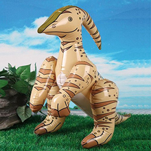 Simulation Dinosaur Model Inflatable Dinosaur Animal Toy PVC Inflatable Toy Children education toy Birthday Party Favor Gifts