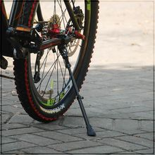 Bicycle Parking Rack Kickstand Heavy Duty Adjustable Mountain Bike Cycle Side Rear Kick Stand for 16 20 24 26 700C