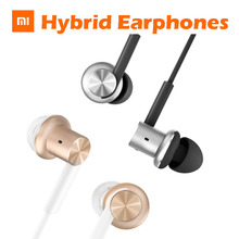 Original Xiaomi Mi Hybrid pro Quantie Earphones In-Ear Headphone Headset with Remote Mic multi-unit circle iron mixed Piston 4(China)