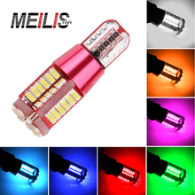 1PCS T15 t10 W5W LED Car styling New Canbus Car LED 18W Fog lights W16W 57SMD NO ERROR Backup light rear Lamp parking Lights(China)