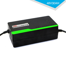 MXPOKWV 48V 30AH Automatic Smart Power Supply Adapter Electric Bike Motorcycle Lead Acid Battery Charger 48V 3.5A US PLUG