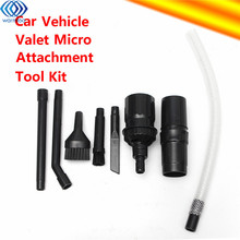 8Pcs Mini Micro Computer Keyboards Tools And Valet Car Vehicle Cleaning Kit For DYSON Vacuum Cleaners(China)