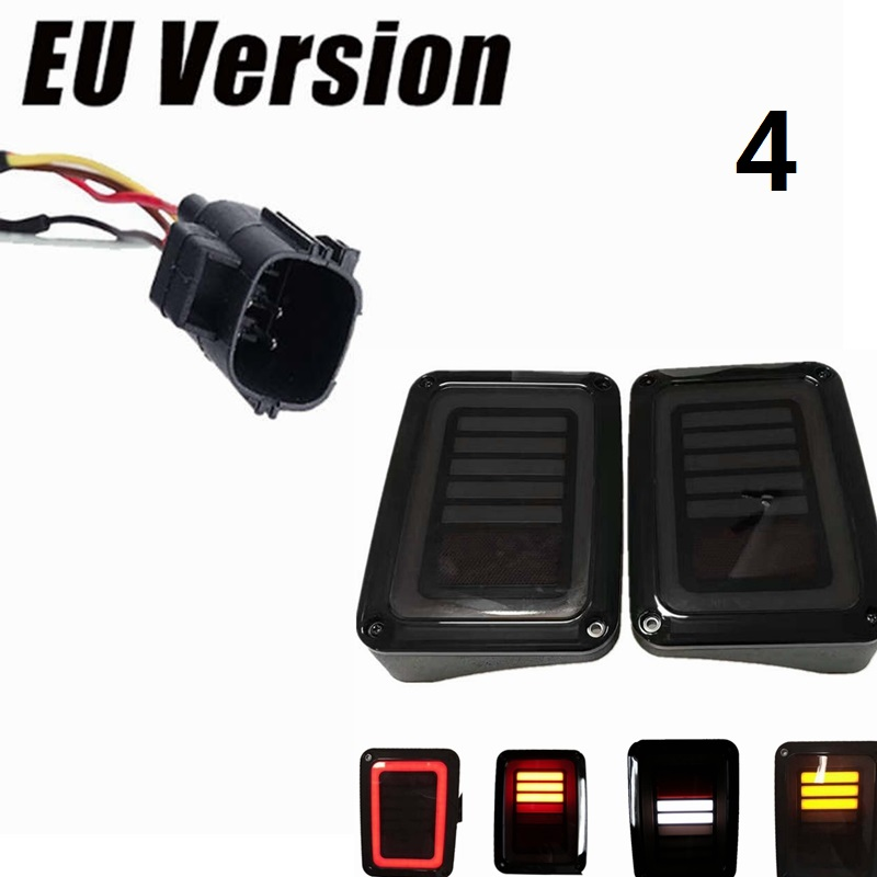 EU Version turn signal LED rear tail light For Jeep wrangler Part TailLight
