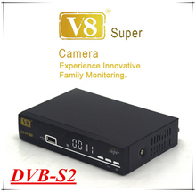New arrival HD V8 Super decoder tv digital satellite receiver DVB S2 /Cccam satellite receiver dvb-s2 support 3G Wi-Fi iptv