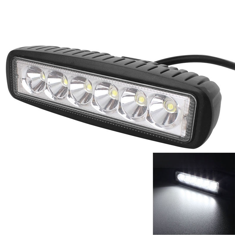 18W LED Work Light for Indicators Motorcycle Driving Offroad Boat Car Tractor Truck 4x4 SUV ATV 12V 1440LM Waterproof IP67<br><br>Aliexpress