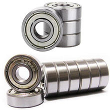8pcs/lot 608ZZ Ball Bearings - For Skateboard, Snowboard, Electric Ride On Car Toy(China)