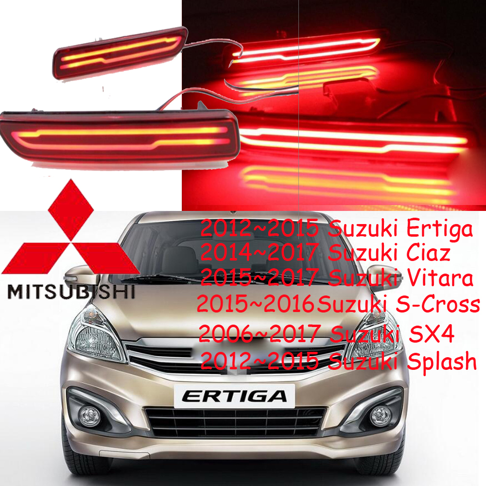 2006~2017 SX4 breaking light,Free ship!LED,2012 Ertiga rear light,LED,2pcs/set,Ciaz taillight;S-Cross,Splash rear light,Vitara<br><br>Aliexpress