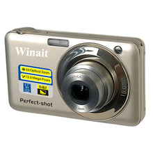 High Quality China Mini CameraDC-V600 15MP 5X Optical Zoom 4X Digital Zoom Digital Camera HD Video 9MP CMOS 800Mah Battery