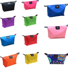 2017 Travel Zipper Waterproof Cosmetic Bag Makeup Pouch Toiletry Hot Wash Organizer Case Gift High Quality Free Shipping S309