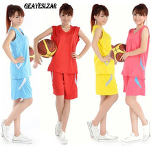 Basketball clothes female set male lovers design basketball clothing female uniforms basketball jersey vest diy