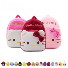 Children's Gifts Kindergarten Boy Backpack Plush Baby Children School Bags For Girls Teenagers Kid Plush Toy Bag mochila(China)