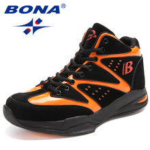 BONA New Arrival Classics Style Men Basketball Shoes Outdoor Jogging Sneakers Male Ankle Boots Sport Shoes Men Free Shipping(China)