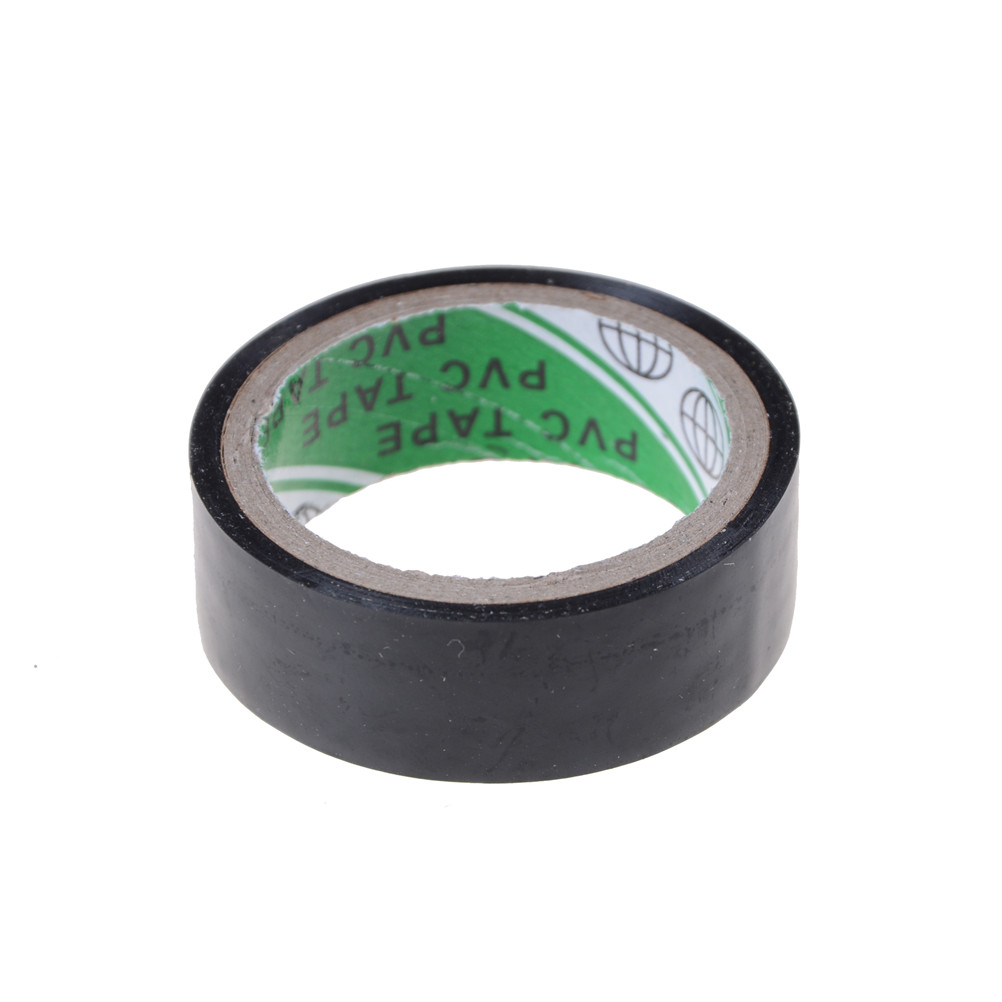 5M*1.8 DIY Electrical Tools Adhesives & Sealers Black PVC Electrical Tapes Flame Retardent Insulation Adhesive Tape