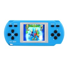 Children Kids 2.2 Inch Game Console Different Handheld Game Player Color Tetris