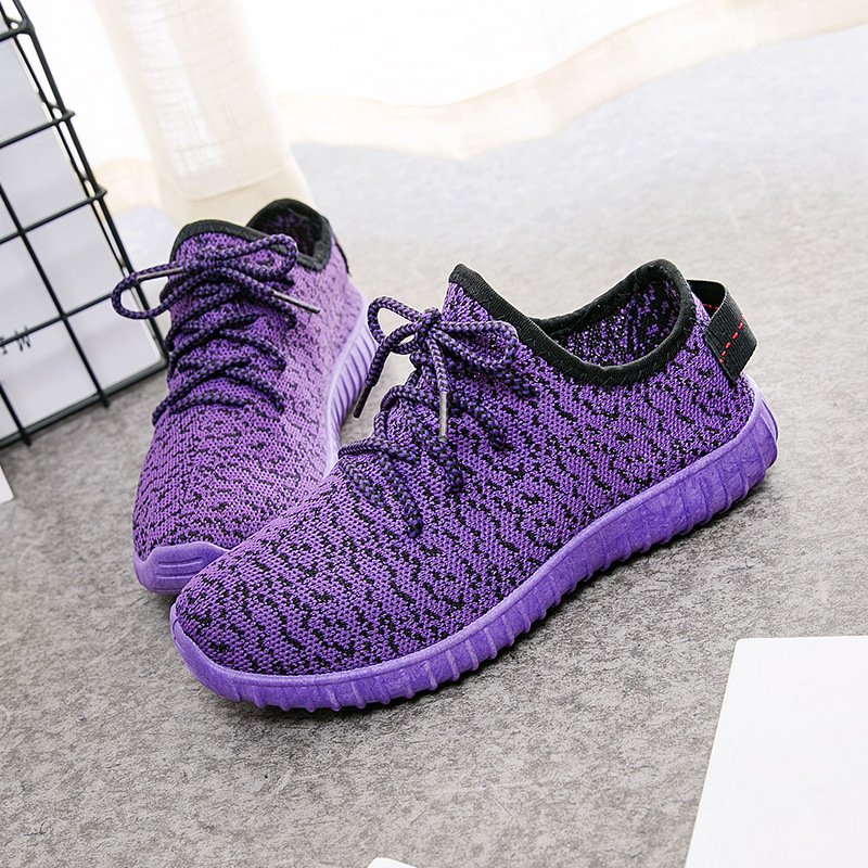 SWYIVY Pink Sneakers Woman Light Weight 2019 Spring Summer Hot Sale Female Casual Shoes Flat/black Sneakers For Woman Knitting