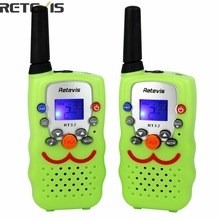 RT32 Walkie Talkie Kids 0.5W 22 CH FRS/GMRS UHF VOX Scan Call Alarm Monitor LED Flashlight Portable Radio Set  A9113G