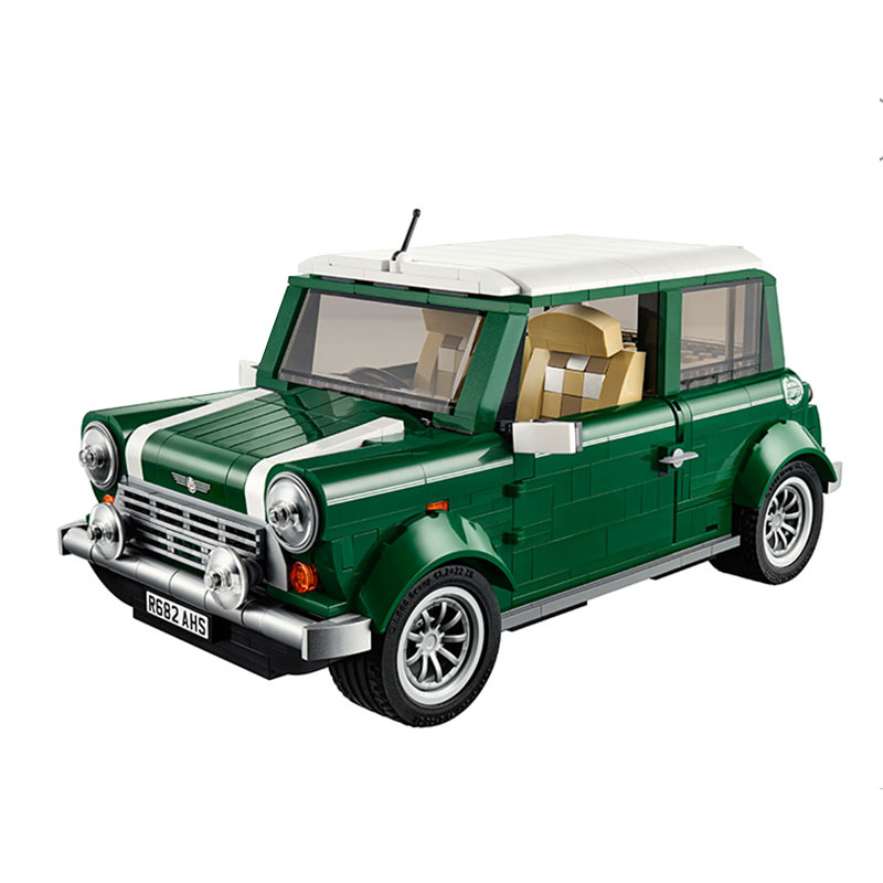 Free shipping LEPIN 21002 technic series MINI Cooper Model Building Kits Blocks Bricks Toys Compatible With10242<br><br>Aliexpress