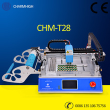 Discount CHMT28 Small Desktop Pick and Place Machine SMT Prototyping pick place Charmhigh 110v 220v