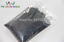 0.2mm Laser black Color Glitter Powder Shining Dust(China)