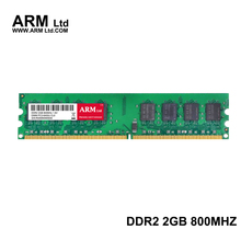 ARM Ltd New seal DDR2 2GB 667Mhz 800Mhz compatible all memory CL5-CL6 1.8V DIMM RAM 1G 667 2G 800 Lifetime Warranty