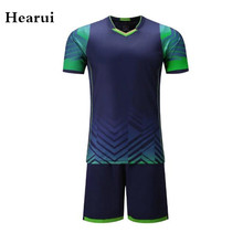 Hearui High-end Custom Soccer Jersey 2016 Blank Soccer Training Suit Football Professional Team Uniforms High Quality