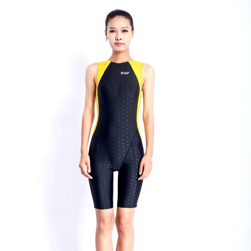 Sharkskin Polyester swimwear protective swiming suit tight - fitting water sport wetsuits unisex diving suit free shipping HX14<br>