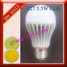 FREE SHIPPING E27 5.5W MCOB LED Bulb Lamp buy DHL