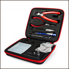 1set  Complete kit DIY tool coil winder ceramic tweezer coils jig ohm meter kit Concepts RDA atomizer coil