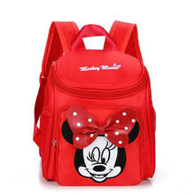 2018 New Fashion Children's schoolbags cute baby hello kitty backpack 1-3 years old boys and girls Spider-Man Superman backpack(China)