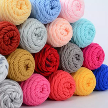 500g/lot 5skeins, Soft Cotton Yarn For Hand Knitting Scarf Hat Sweater Baby  Yarn ,Free Shipping