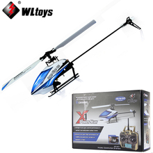 1 set WLtoys V977 Power Star X1 6CH 2.4G Brushless With Remote Control Toy Rc Helicopter(China)