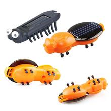 Solar Energy Toys Enlightenment Education Insects Model Funny Plastic Scientific Explore Educational Gadget Toys for Children(China)