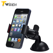 New Balck White Universal Car Windshield Mount Holder phone car holder For iPhone 5S 5C 5G 4S MP3 iPod GPS Samsung free ship yay(China)