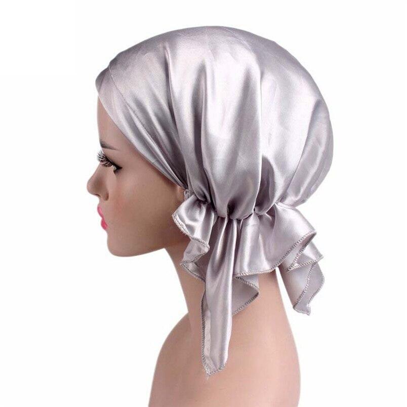 Women Summer Hats Fashion Casual New Arrivals Cancer Chemo Hat Beanie Scarf Turban Head Wrap Cap Hot Sale Hats #J19 (11)