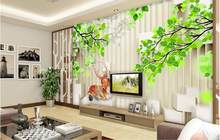 Custom High Quality Offer Wall paper Mural 3d Non-woven Wallpapers For Living Room Bedroom Hall Background Wall papers Decor(China)