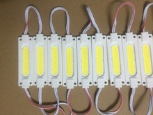 500pcs  led COB module Light Advertising lamp 2W IP65 Waterproof DC12V safe led background light warm white/red/blue
